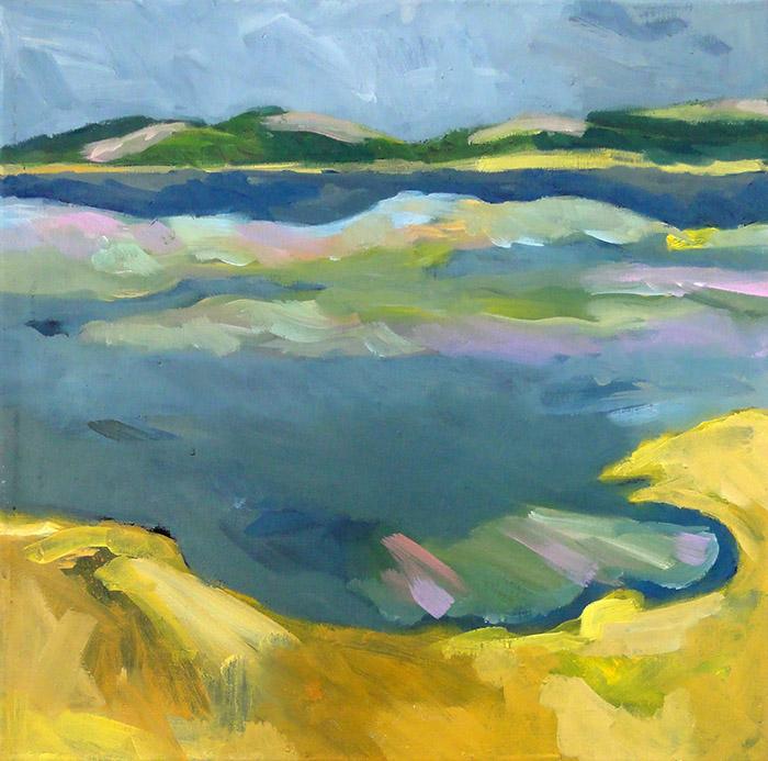Verhaar, Mieke-Lac de Pannecière IV 50 x 50_700px